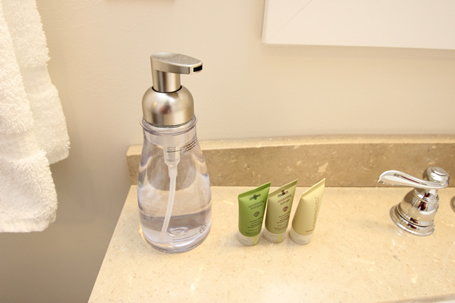 <b>Simple, unexpected touches</b> - When you stay at SummerHouse, we want you to feel at home. The foaming hand soap is a little touch we added to make you feel right at home.